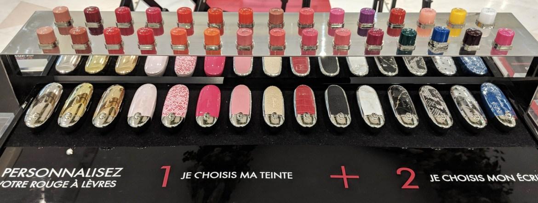New Guerlain Rouge G Cases