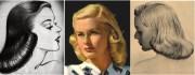 vintage hair tutorial - 1940s