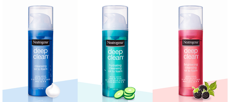 Simplify Skincare With Neutrogena® Deep Clean Oil to Foam