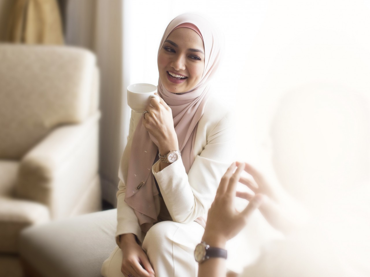 Neelofa Appointed As The Face Of Titan In Malaysia