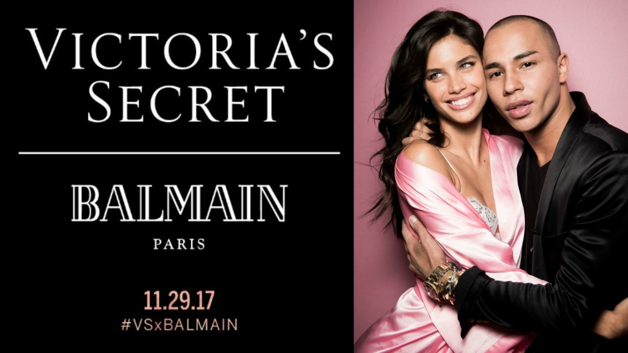1c2476a5 Wow, Balmain Is Designing Official Looks For The 2017 Victoria's Secret  Fashion Show In Shanghai
