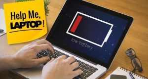 cara cas baterai laptop secara manual