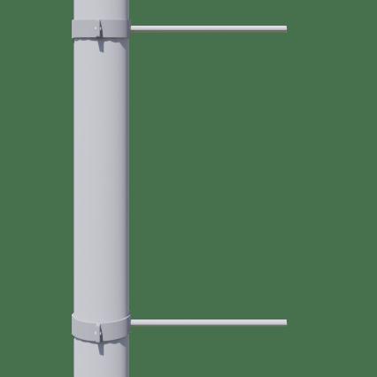 Valgusposti banneri konstruktsioon