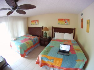 Our room at Ocean Club East