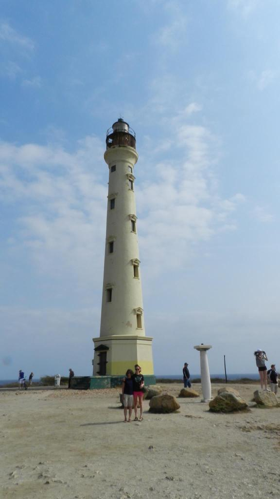 The California Lighthouse was named after the S.S. California, which sunk before the lighthouse was built. Perched on a high seaside elevation, the lighthouse has become one of Aruba's scenic trademarks and offers a picture perfect view of the island's western coastline of sandy beaches and rocky shorelines.