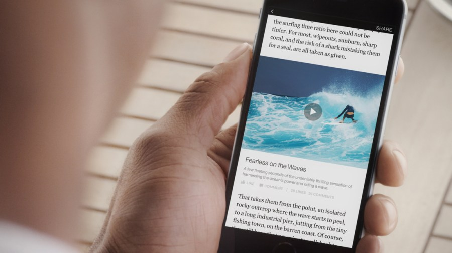 Marketing Tools - Facebook Instant Articles