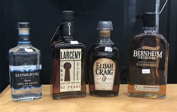 Tasting - Bourbons and Tequilas