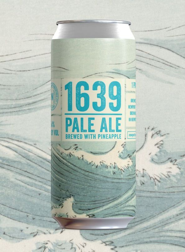 Newport Craft Beer 1639 Pale Ale