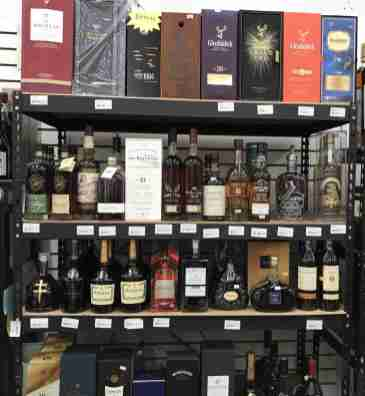 Specialty Bourbon and Liquors at Liquid Assets