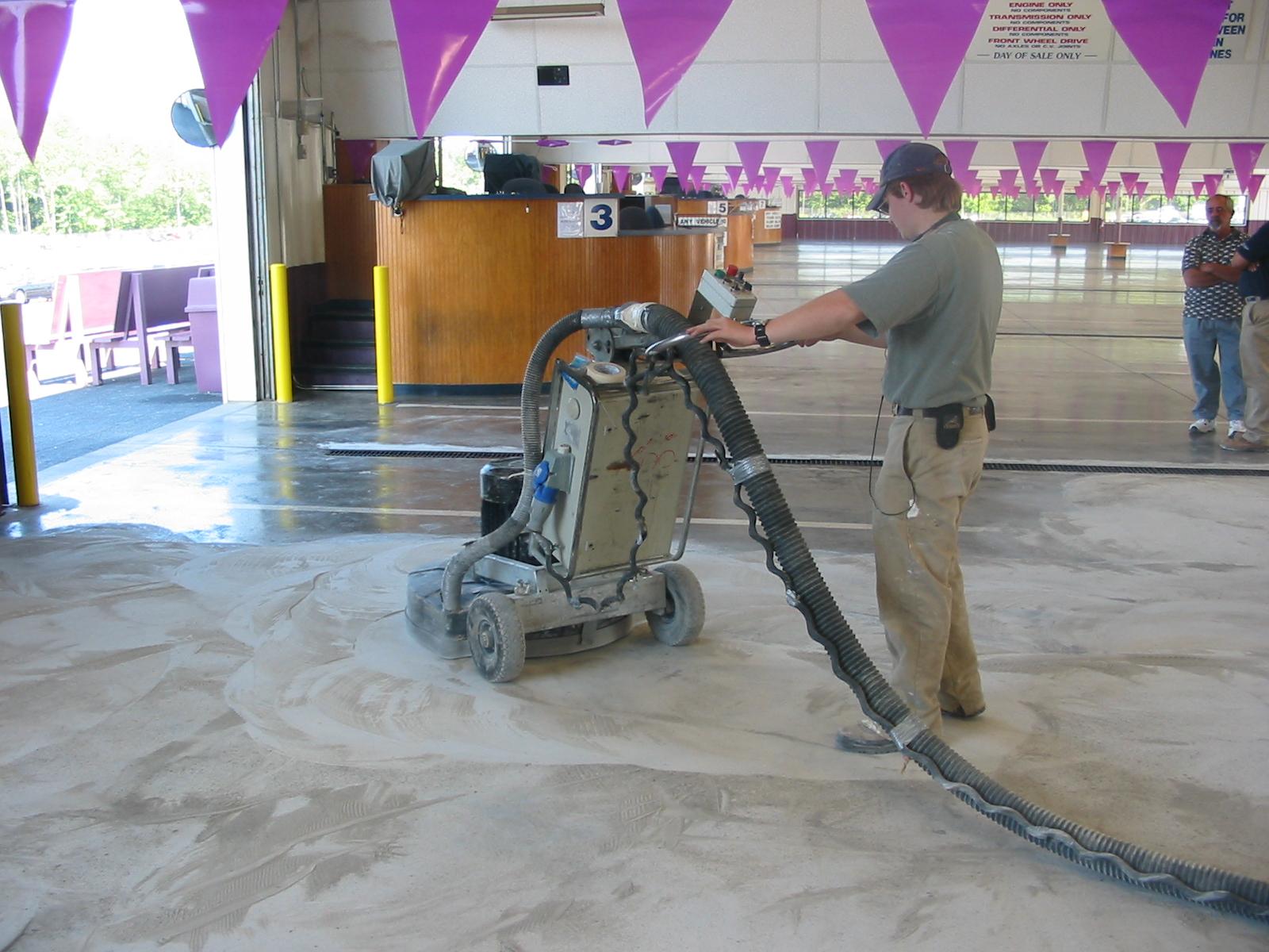 Industrial Automotive Flooring  Case Study  Anderson SC