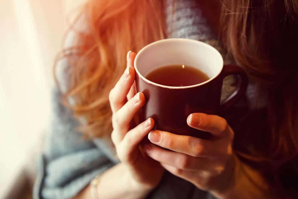 What Type of Tea is Best for A Cold or Flu - Liquid Image