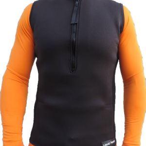 Men's 2.5mm Wetsuit Vest, Pullover, Half- Zip