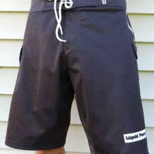 black board shorts-all purpose, 4-way stretch board shorts