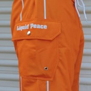 Orange Board Shorts-All Purpose