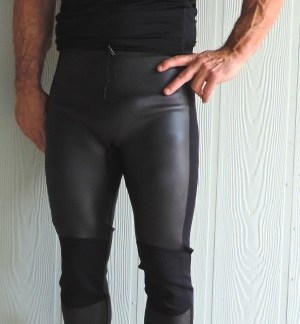 Men s 2mm Smooth Skin Wetsuit Pants - Liquid Peace ffadbdf7d