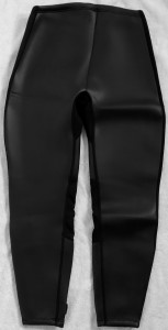 women's 2mm smooth skin pants-back of pants