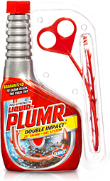 Hair Clog Eliminator   Clogged Shower Drains   Liquid-Plumr