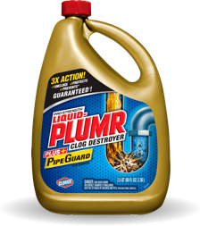 how to clean a smelly drain liquid plumr