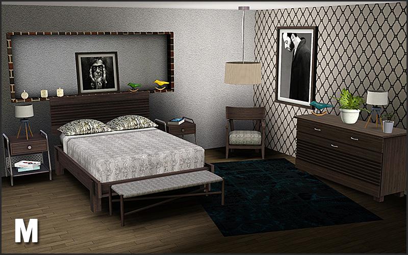 Boston Bedroom by Mango Sims  Liquid Sims