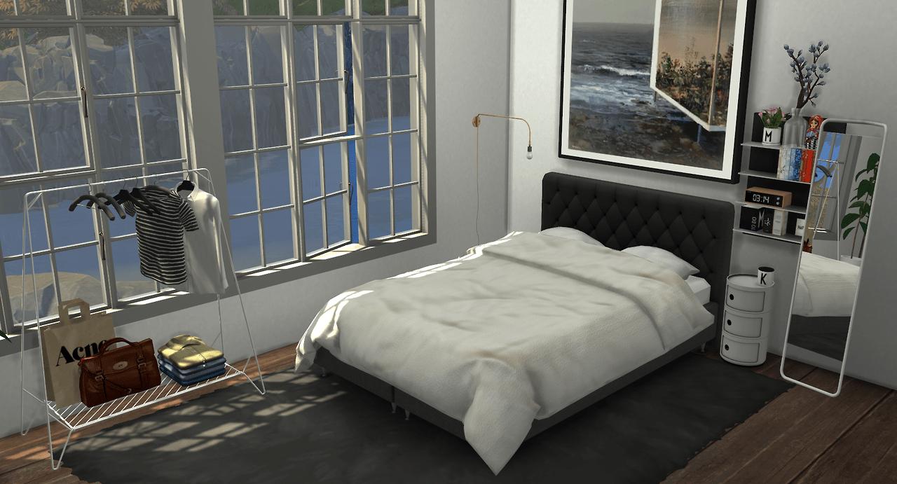 Bedroom Set by minc  Liquid Sims