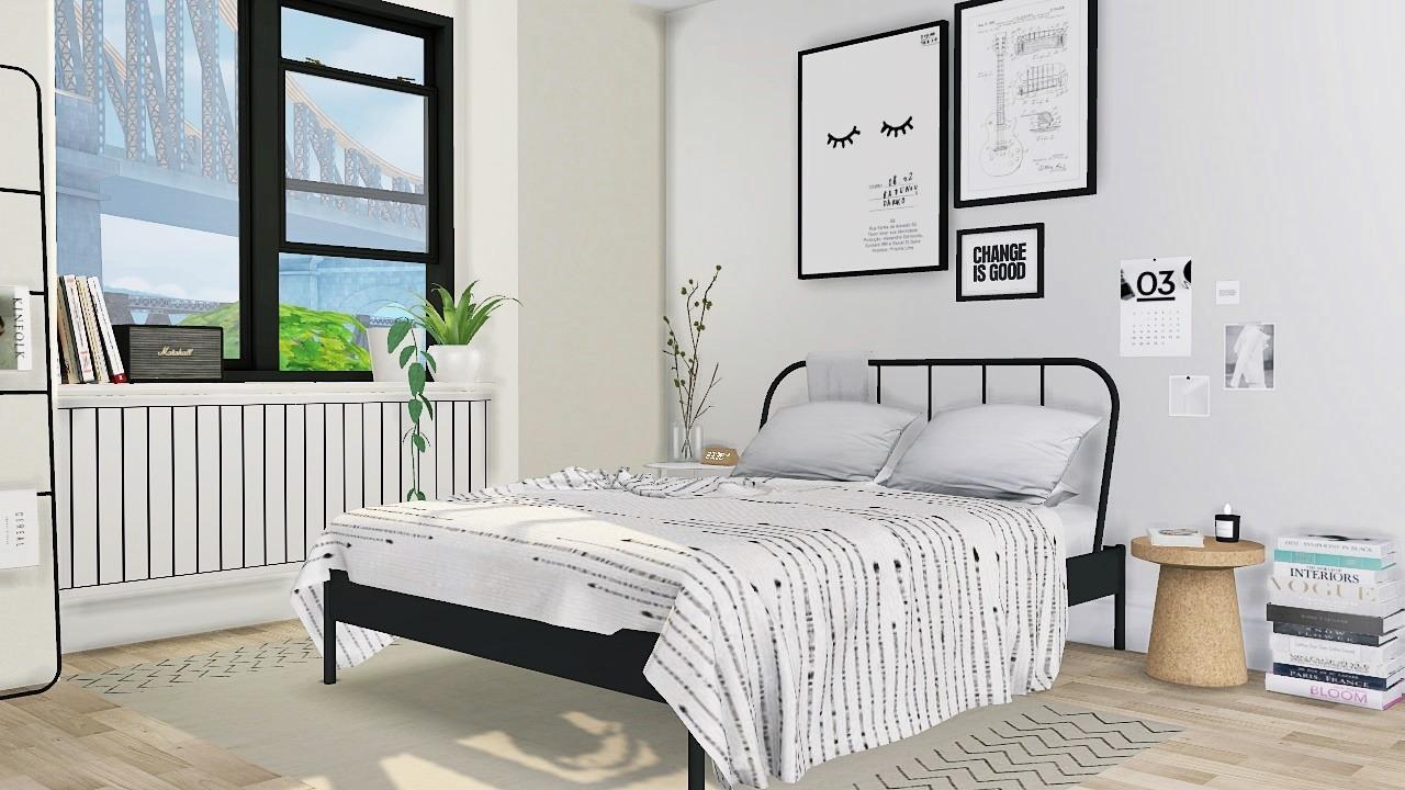 Larina Bedroom By Mxims Liquid Sims