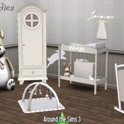 Ikea Lounge Chair Banquet Style Chairs Sweet Buddies Nursery By Sandy - Liquid Sims