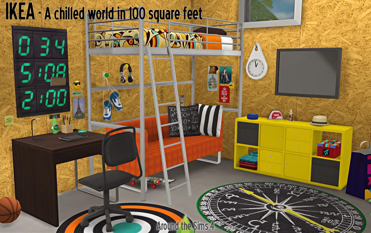 Ikea Bedroom By Sandy Liquid Sims