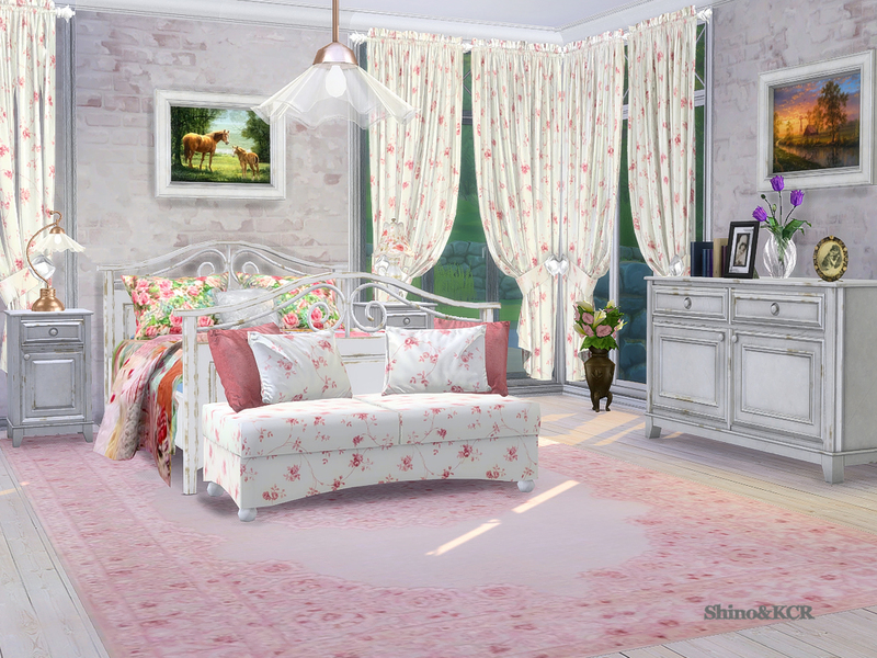 Country Bedroom By Shinokcr Liquid Sims