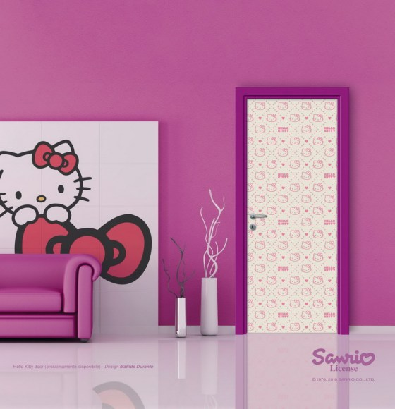 Hello Kitty Collection Doors by Nusco Porte