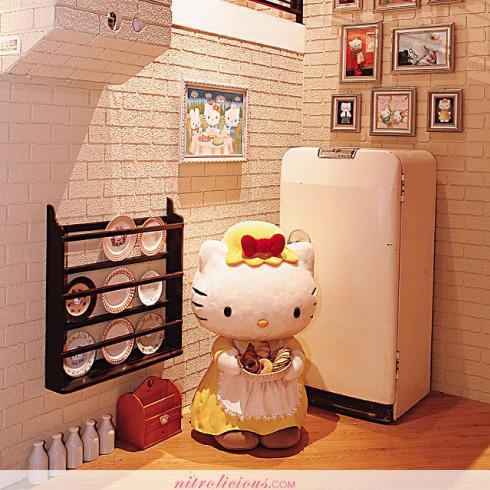 Hello Kitty Secret House in Hong Kong