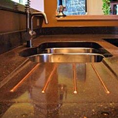 High End Kitchen Sinks Planning A Island Liquid Stone Studios | Concrete Countertops