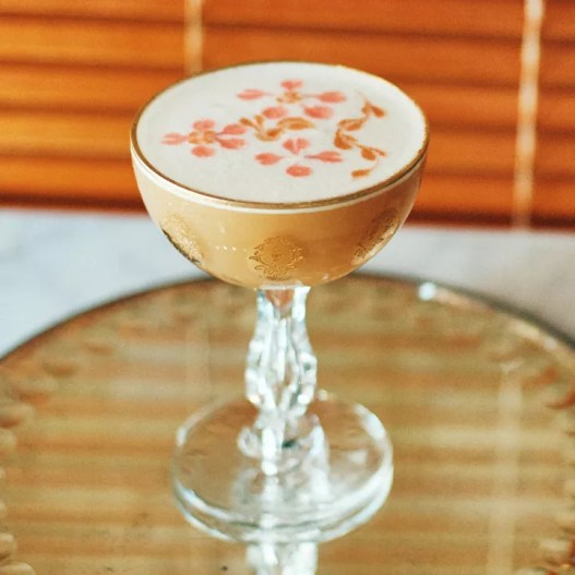 Japanese Sour cocktail