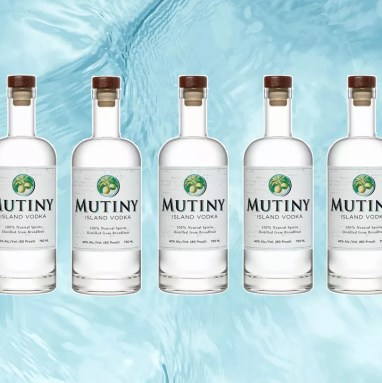 Mutiny Island vodka