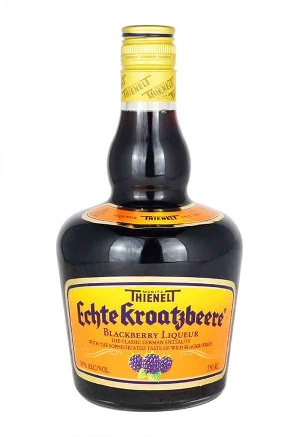 Echte Kroatzbeere Blackberry liqueur 75cl 35 Product of