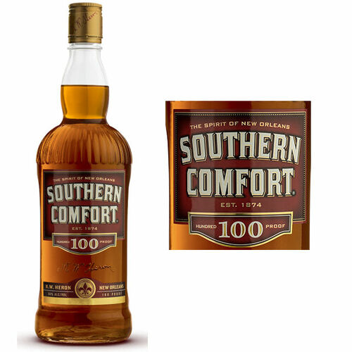 Southern Comfort Whiskey Liqueur 100 Proof 750ml Liquor