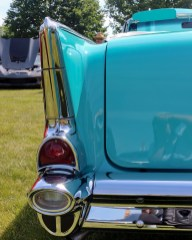 1957 Chevy Bel Air tailfin detail
