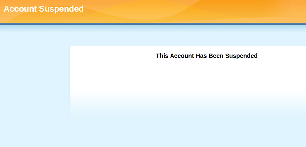 """9c46a56c7 How to Fix """"Your Account Has Been Suspended"""" Message on Your Website"""