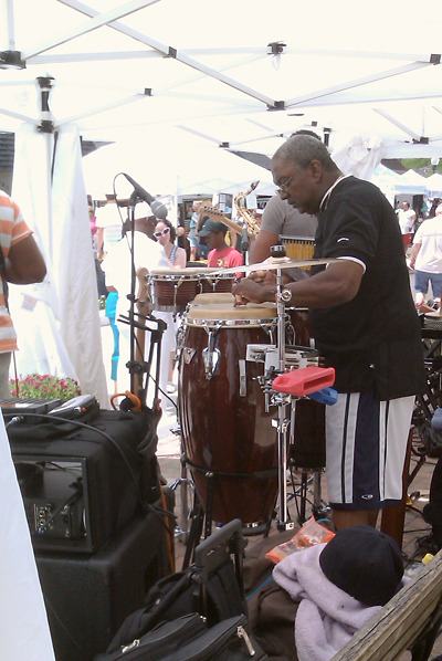 Live concert at Art in the Park