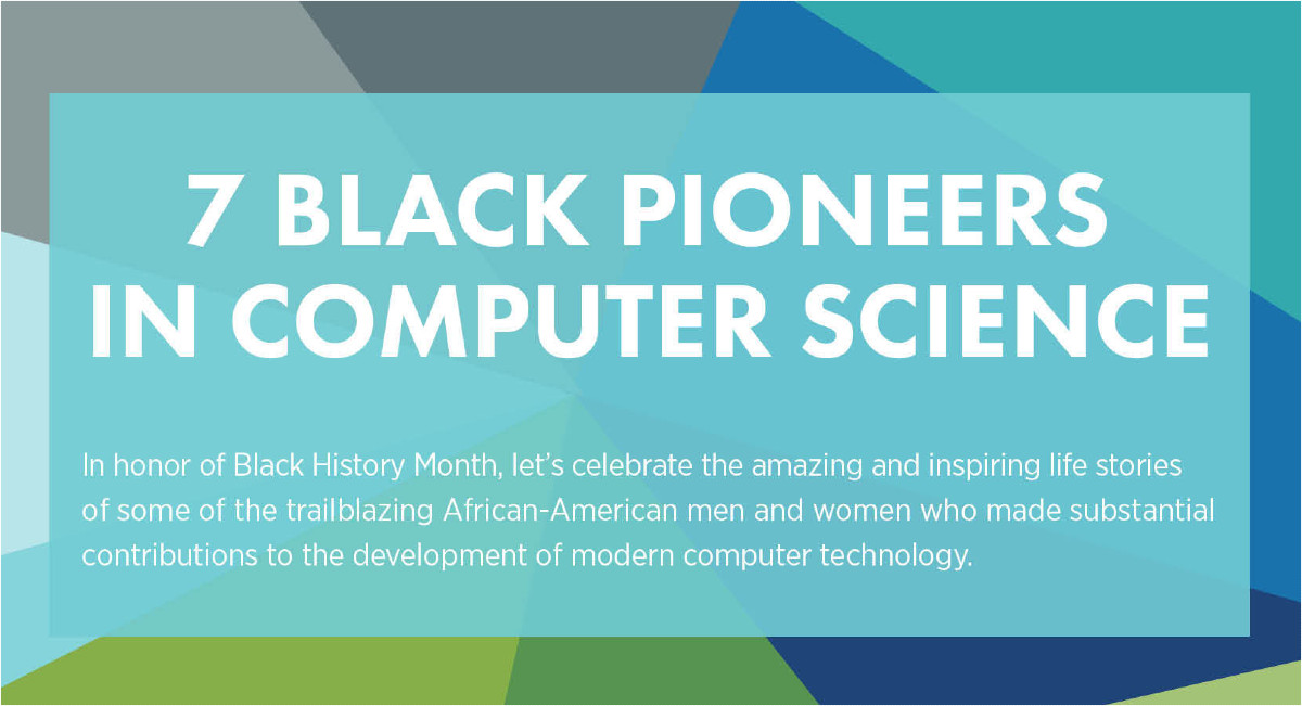7 black pioneers in computer science.