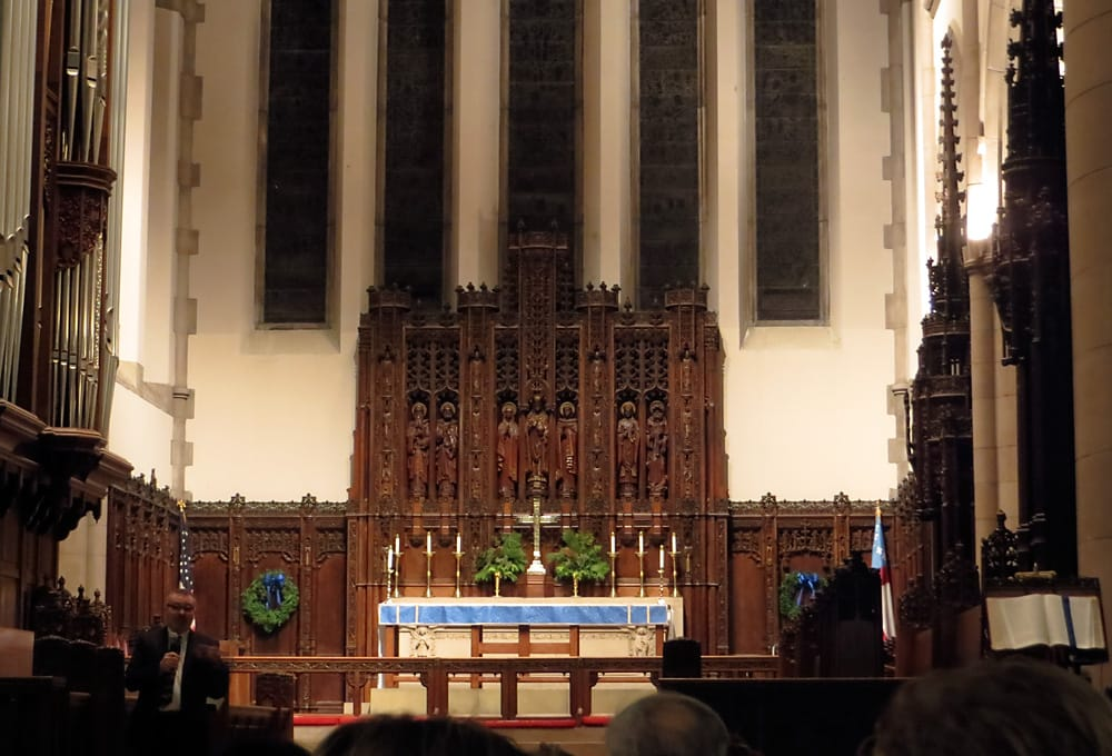 Sanctuary at the Cathedral Church of St Paul in Detroit