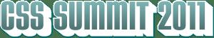 CSS Summit 2011 logo