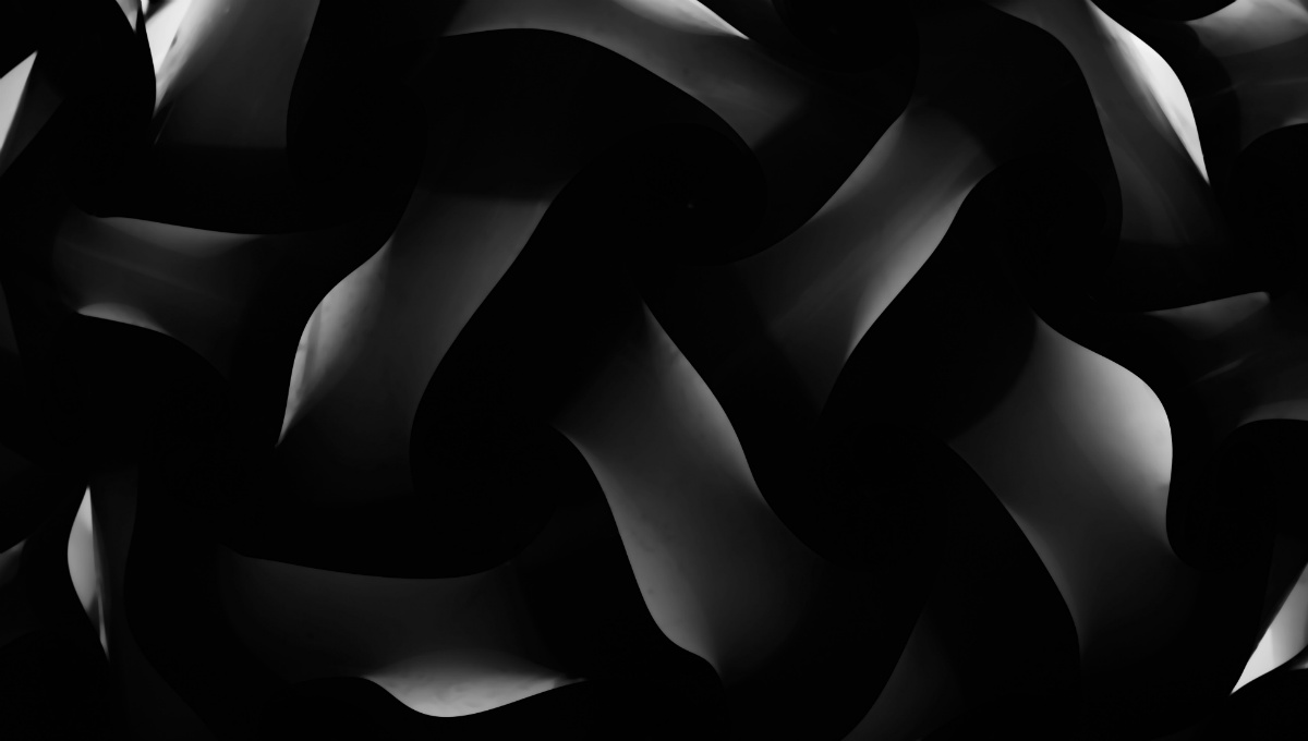 dark white and black abstract pattern
