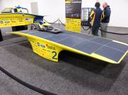 Yellow University of Michigan Solar Car