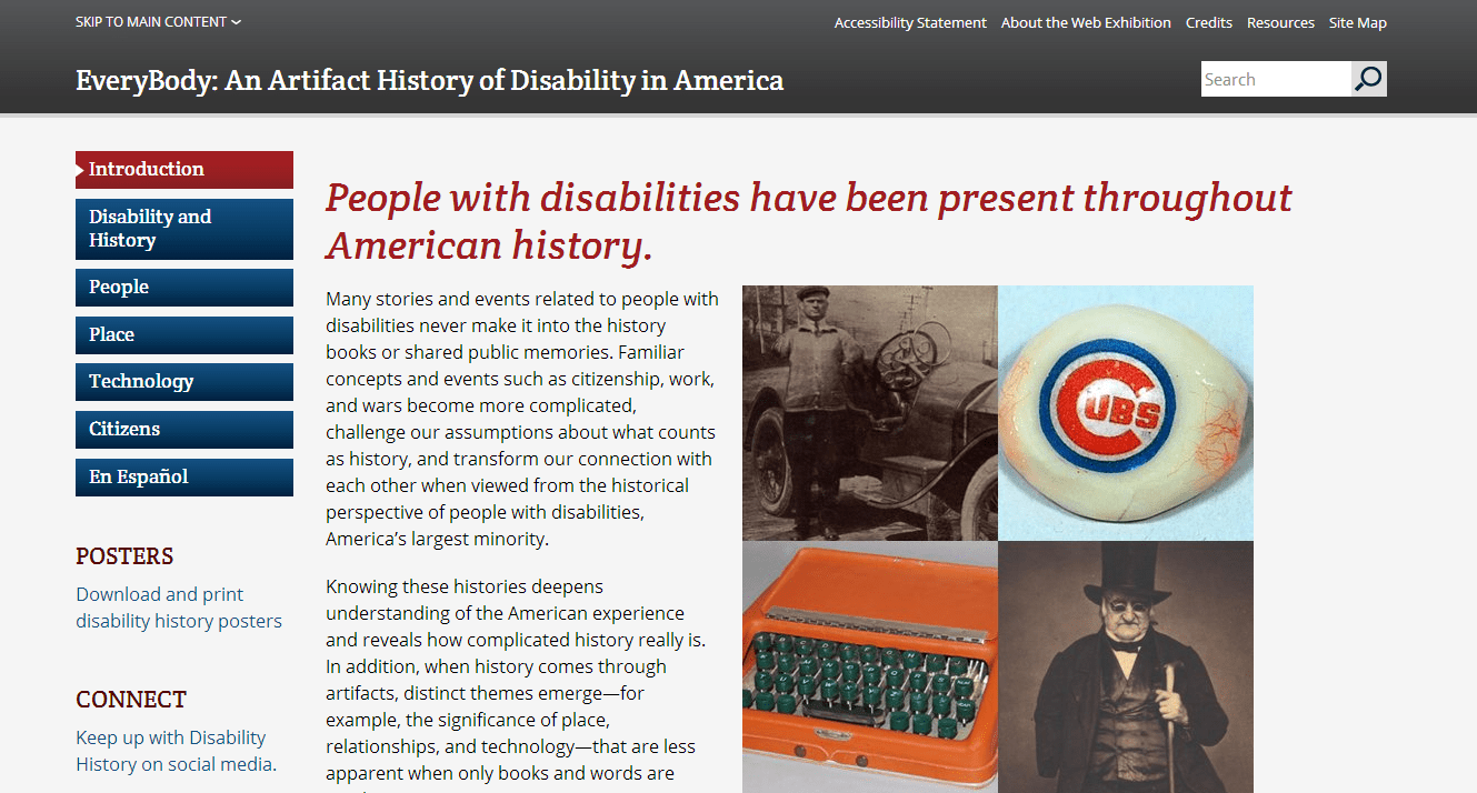 Disability history in America