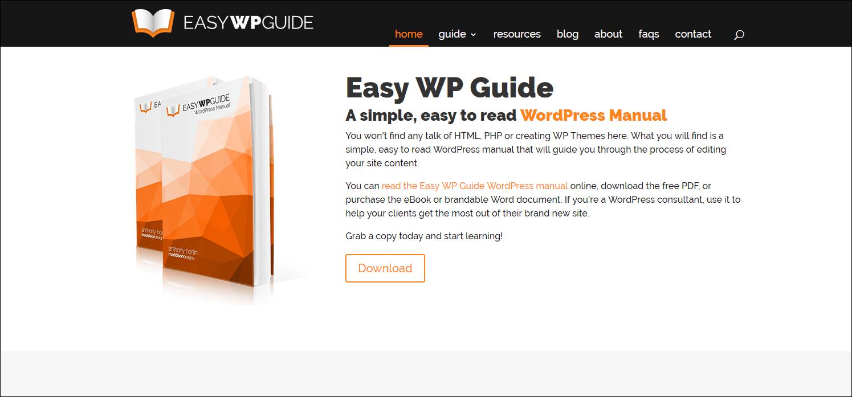 easy wp guide released for wordpress 4 9 rh lireo com  Princeton University