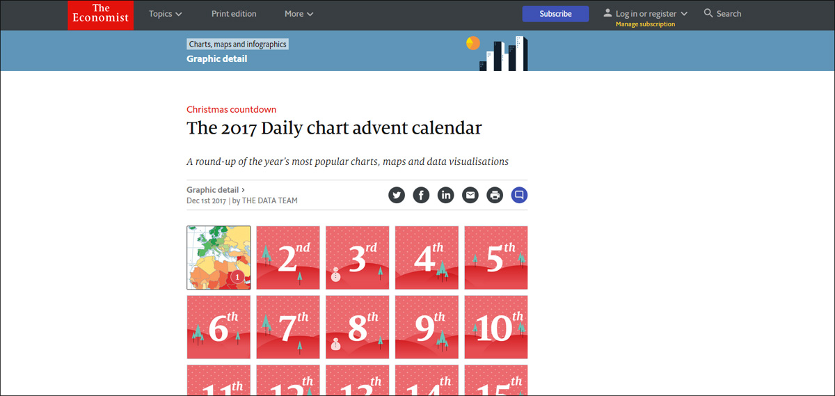 The Economist Daily Chart Advent Calendar 2017.