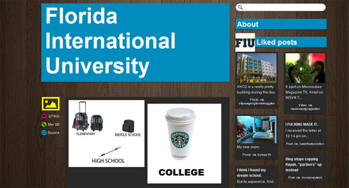 Florida International University Tumblr