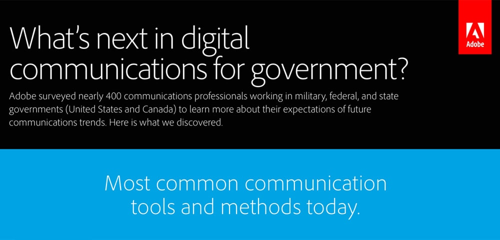 What's the future of digital communications in government?