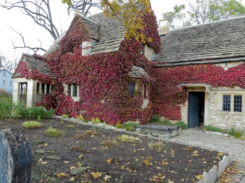Cotswold Cottage, a 17th century stone cottage from Chedworth, Gloucestershire, England
