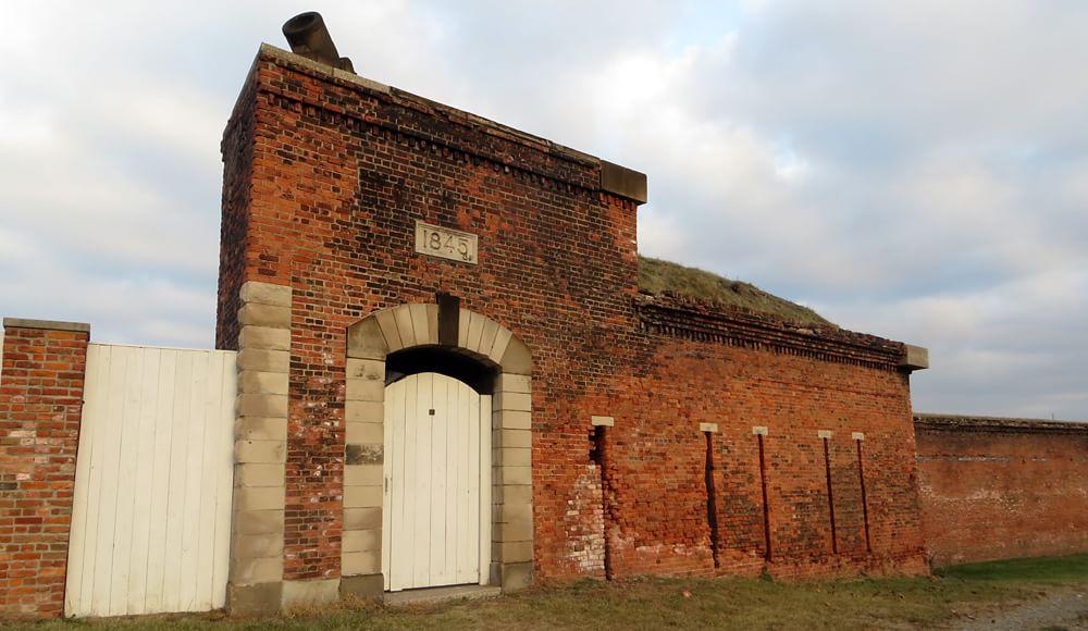 1848 Historic Fort Wayne Star Fort entrance